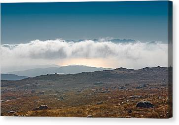 Kingdom In The Sky Canvas Print by Gary Eason
