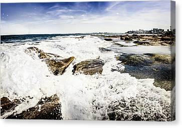 Kings Beach Seascape Canvas Print by Jorgo Photography - Wall Art Gallery