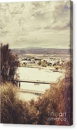 Kings Bridge In Launceston Tasmania Canvas Print by Jorgo Photography - Wall Art Gallery