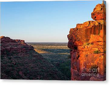 Kings Canyon Canvas Print