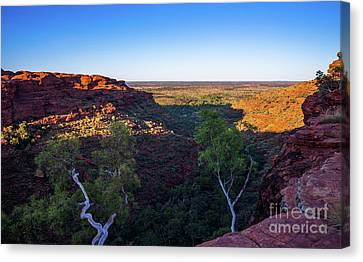 Kings Canyon Panorama Canvas Print