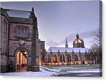 King's College - University Of Aberdeen Canvas Print