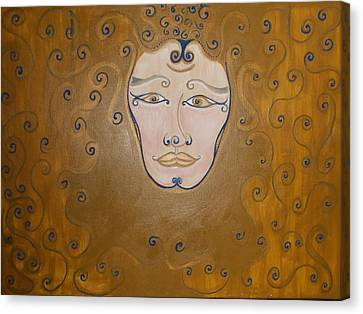 Kings Of Kings Canvas Print by Salma Yusuf