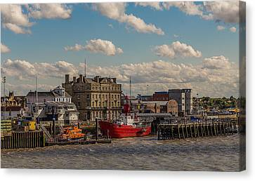 Kings Quay Canvas Print by Capt Gerry Hare