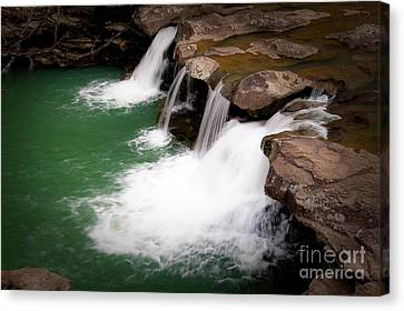 Kings River Falls Canvas Print by Tamyra Ayles