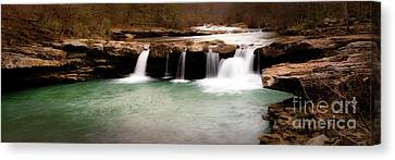 King's River Panorama Canvas Print by Tamyra Ayles