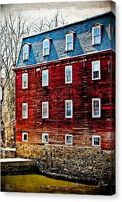 Kingston Mill Canvas Print by Colleen Kammerer