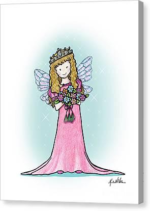 Canvas Print - Kiniart Faerie Princess by Kim Niles
