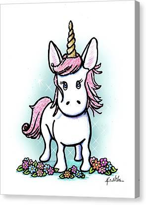 Canvas Print - Kiniart Unicorn Sparkle by Kim Niles