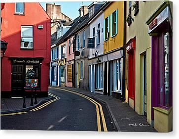 Kinsale Street Canvas Print