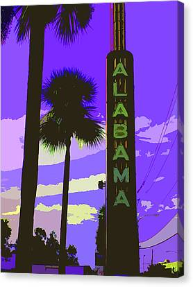 Kirby And Alabama Canvas Print by Derick Van Ness