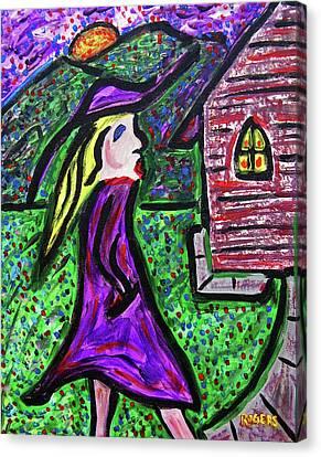 Kirche Canvas Print - Kirche Dame by Christopher Rogers
