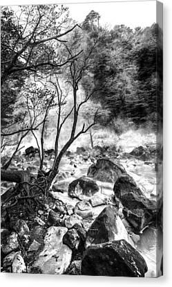Canvas Print featuring the photograph Kirishima by Hayato Matsumoto