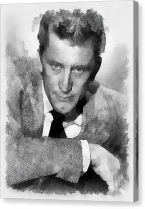 Kirk Douglas Actor Canvas Print