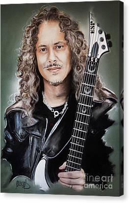 Kirk Hammett Canvas Print
