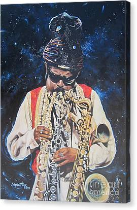 Blue Cat Productions.  Rahsaan  Roland Kirk  Canvas Print