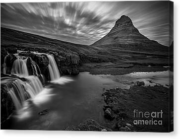 Kirkufellsfoss  Canvas Print