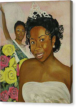 Kirsten Canvas Print by Angelo Thomas
