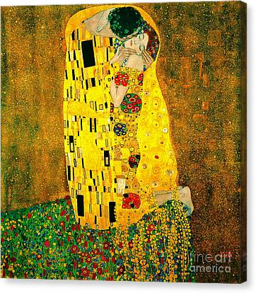 Kiss 1907 Canvas Print by Padre Art