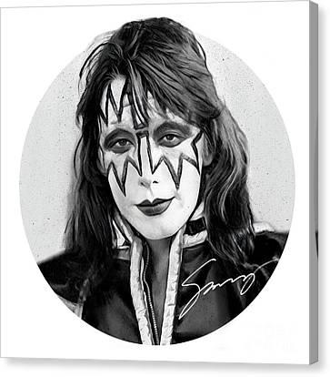Kiss Ace Frehely Canvas Print