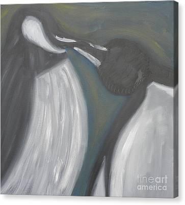 Kiss Of Dawm Canvas Print