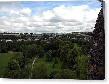 Canvas Print featuring the photograph Kiss The Blarney Stone by Dianne Levy