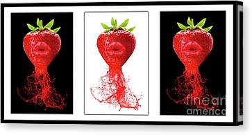 Fruits Canvas Print - Kitchen Art by Prar Kulasekara