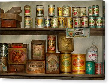 Kitchen - Food - Side Dishes Canvas Print by Mike Savad