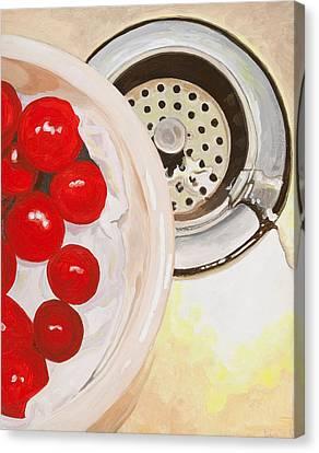 Kitchen Sink Canvas Print by Lissa Banks