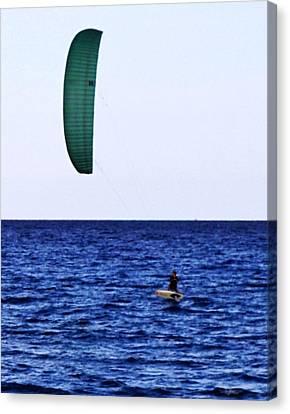 Kite Board Canvas Print