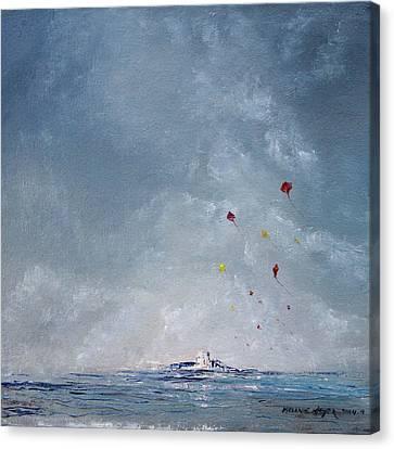 Kite Island Canvas Print