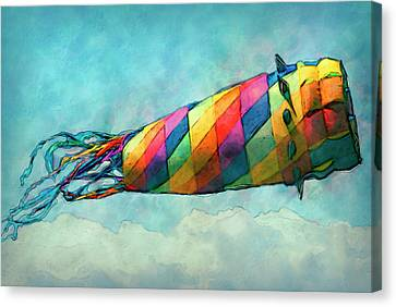 Kite Canvas Print by Jack Zulli