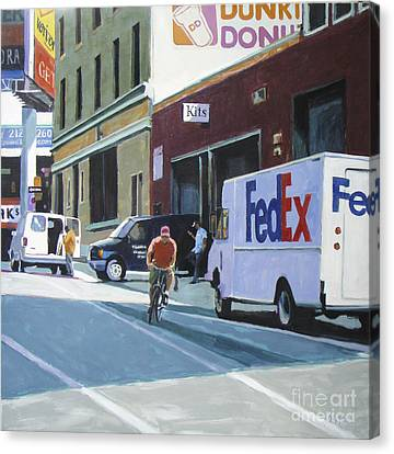 Kits Canvas Print by Patti Mollica