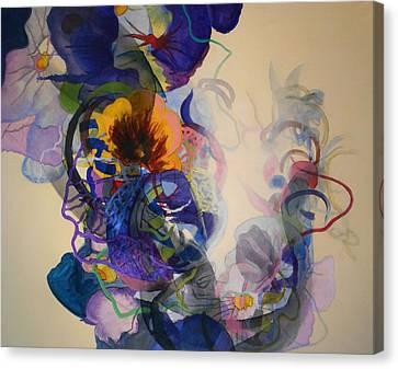 Kitsch Dna Canvas Print