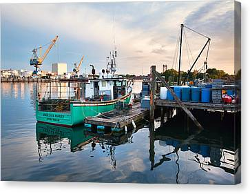 Kittery Foreside Canvas Print by Eric Gendron