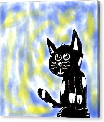 Kitty Kitty Canvas Print
