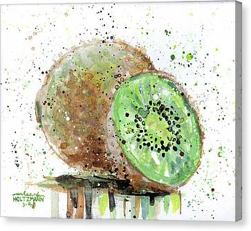 Kiwi 2 Canvas Print by Arleana Holtzmann