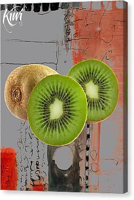 Kiwi Canvas Print - Kiwi Collection by Marvin Blaine
