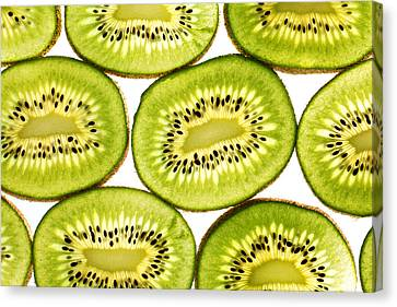 Kiwi Fruit II Canvas Print by Paul Ge