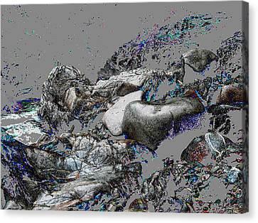 Kleanza Rocks II Canvas Print by Anne Havard