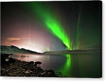 Kleifarvatn Lake Canvas Print by Gudjon Otto Bjarnason