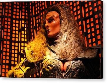 Canvas Print featuring the photograph Klingon by Kristin Elmquist