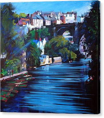 Knaresborough Viaduct Canvas Print