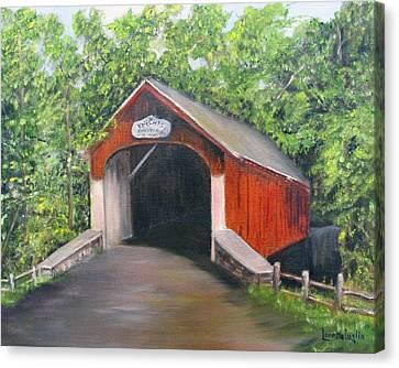 Knechts Covered Bridge Canvas Print