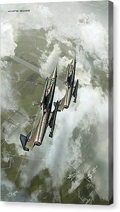 Knife Edge Canvas Print by Peter Van Stigt