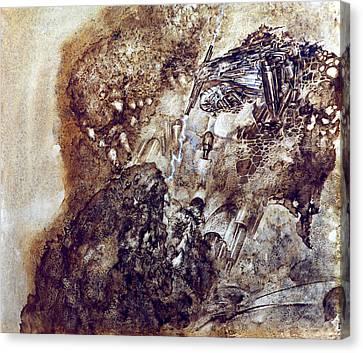 Knight 2 Canvas Print by Valeriy Mavlo