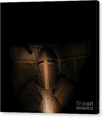 Observer Canvas Print - Knight Of Darkness by Jorgo Photography - Wall Art Gallery