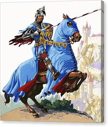 Knight Canvas Print by Pat Nicolle