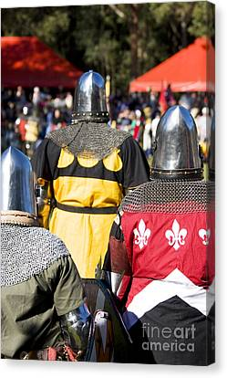 Knight Squad Canvas Print by Jorgo Photography - Wall Art Gallery