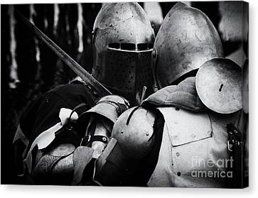 Knights Of Old 2 Canvas Print by Bob Christopher